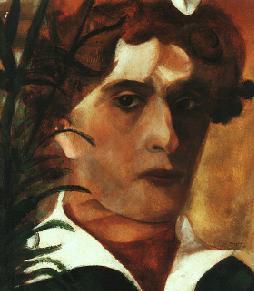 autorretratos: marc chagall